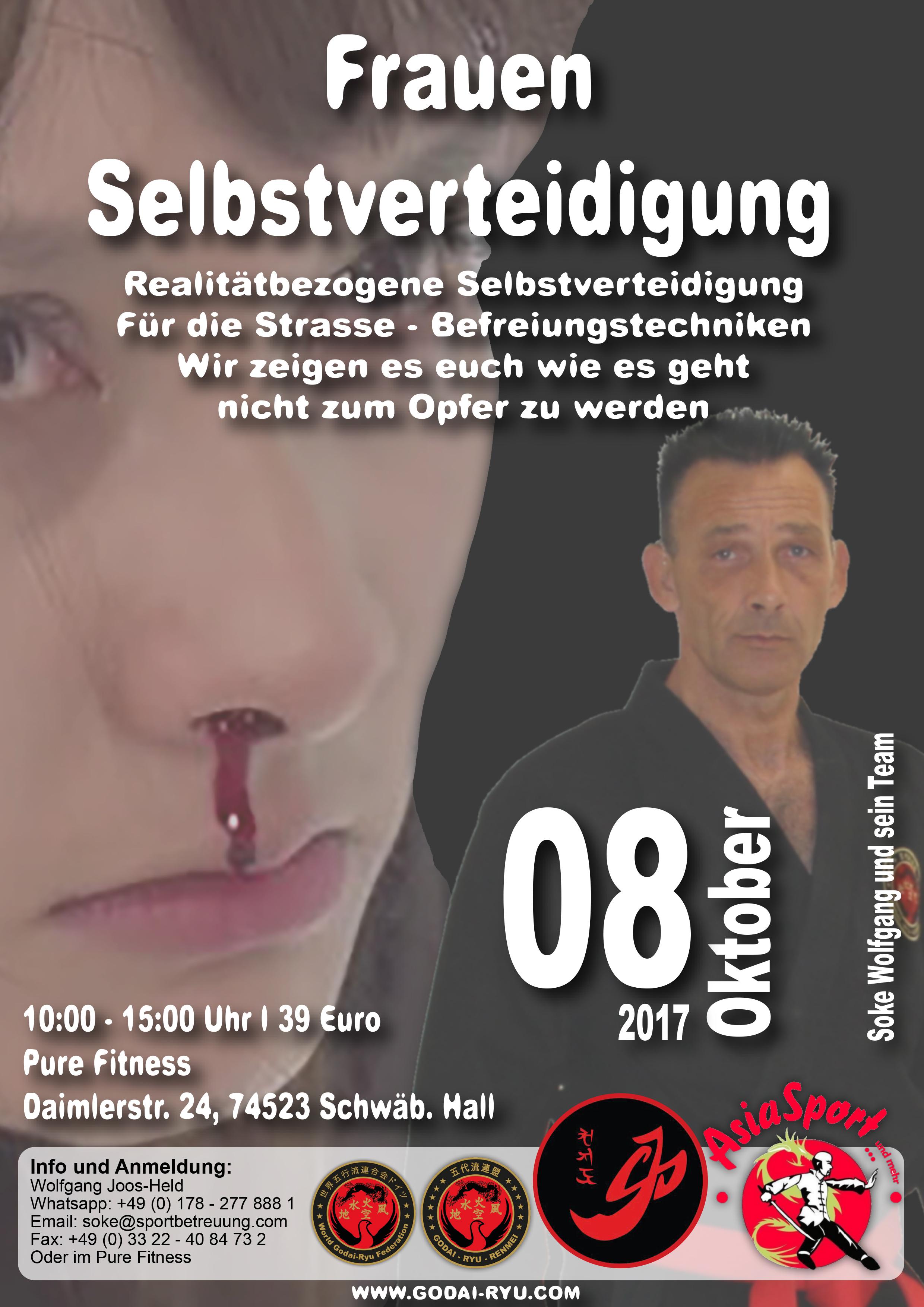 Frauen Selbstverteidigung - Schwäbisch Hall